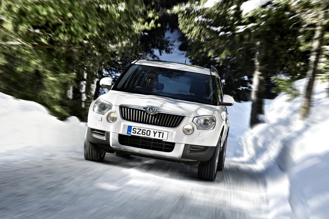 Winter Tyres Cheaper & Safer Than 4×4