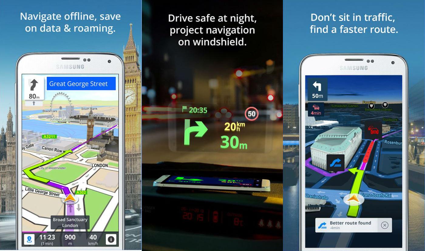 GPS Navigation & Maps Sygic triple